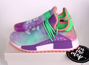 b6701f0515989 Adidas Pharrell Human Race HU Holi NMD Trail Chalk Coral Powder Dye ...