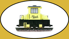 Hartland 09701 G Scale Yellow Mighty Mack Diesel Switcher