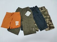 4 Gymboree Roots Carters ON Baby Boys Size 6-12M Pants Shorts Lot New & Used
