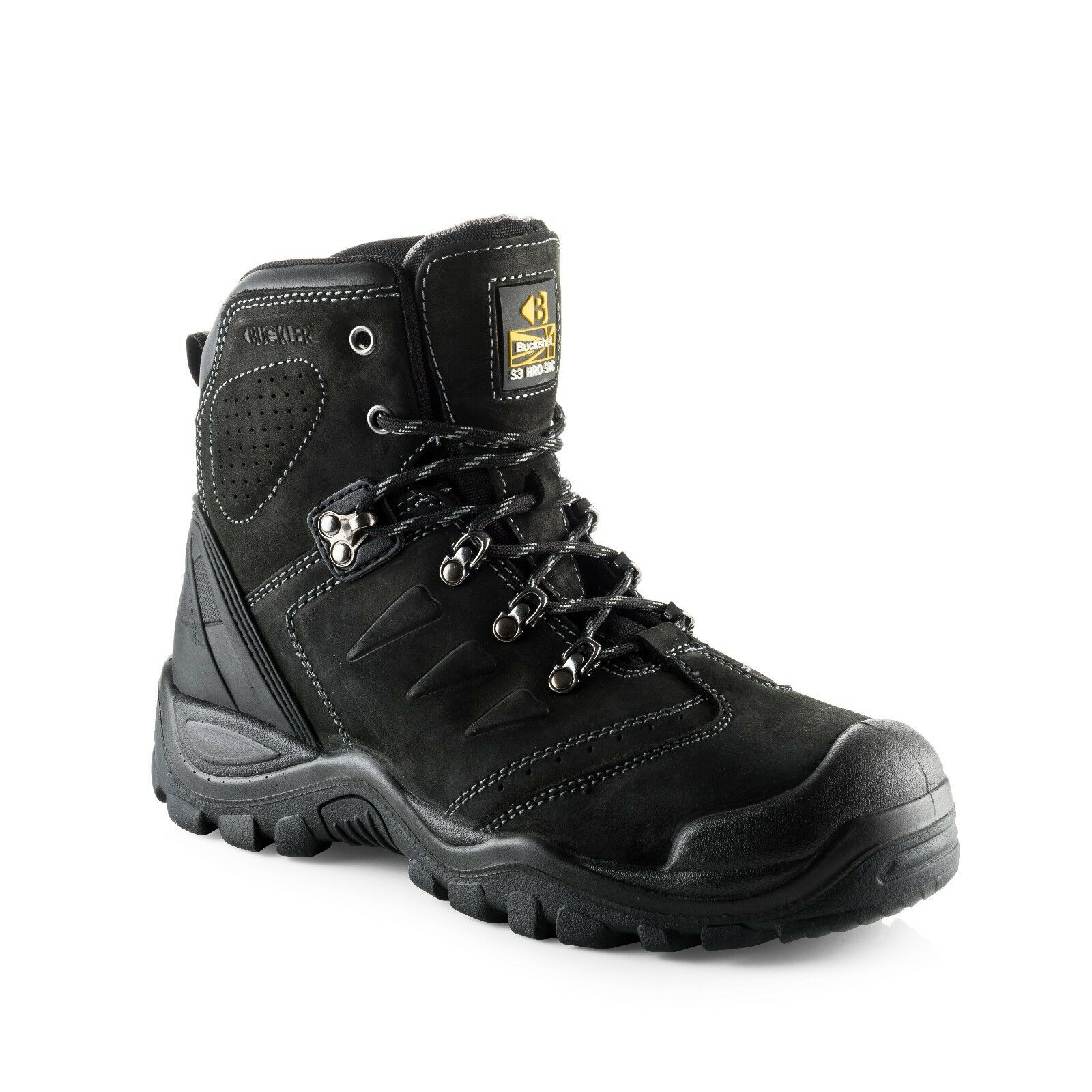 Buckler Safety Work botas (Various Styles) Hombre's Anti-Scuff Steel Toe Toe Toe Zapatos 2f5a42