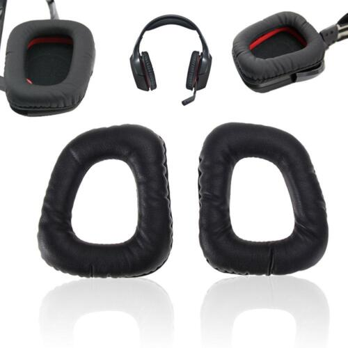 Soft Replacement Ear Pads Cushions for Logitech G35 G930 G430 F450 He