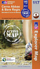 Cerne Abbas and Bere Regis by Ordnance Survey (Sheet map, folded, 2006)