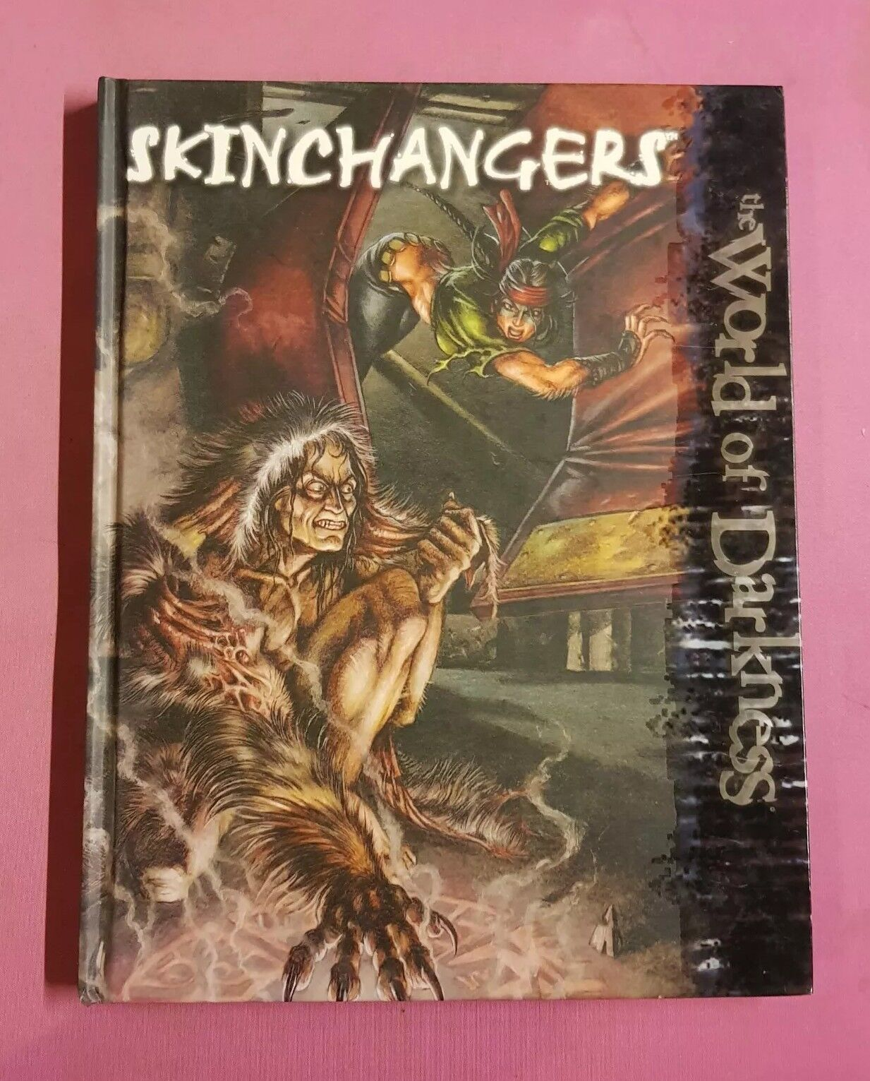 SKINCHANGERS - NEW WORLD OF DARKNESS WHITE WOLF RPG ROLEPLAYING NWOD ROLEPLAY WW
