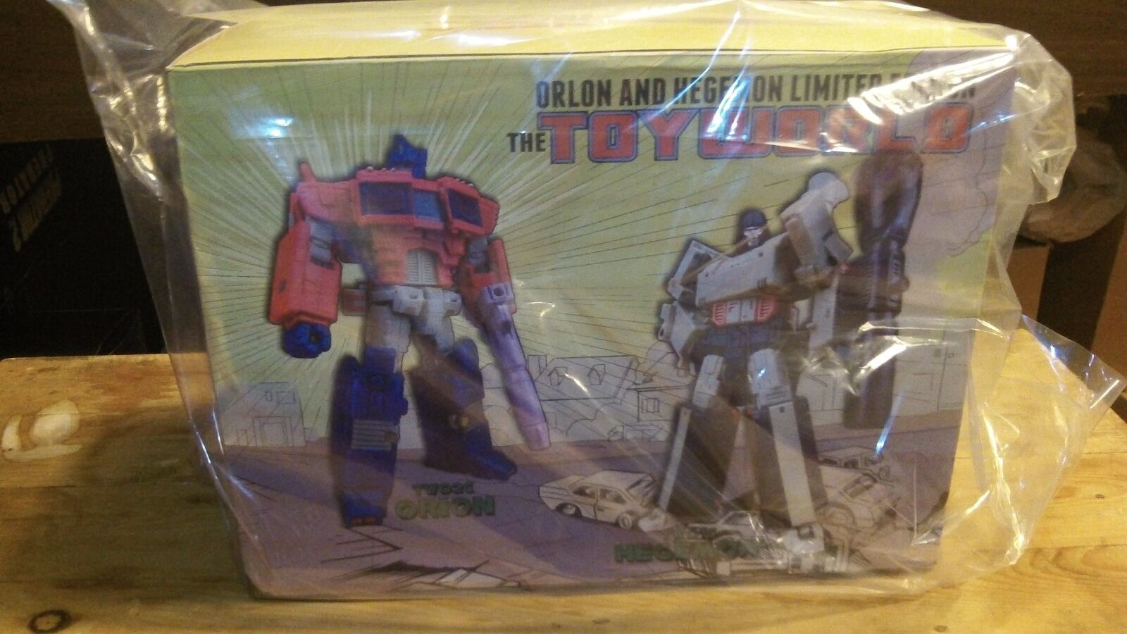 Transformers Transformers Transformers Toyworld Limited Edition Orion Vs hegemon Nuevo b22c7b