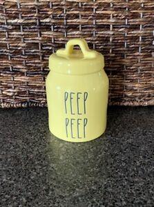 Rae-Dunn-Magenta-Small-Yellow-PEEP-PEEP-Easter-Canister