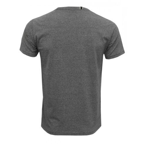 Grey Melange Replay Retro Logo Tape Men/'s T-Shirt
