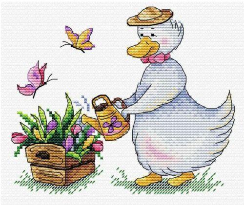 MP STUDIA Cross Stitch Kit-jardinage