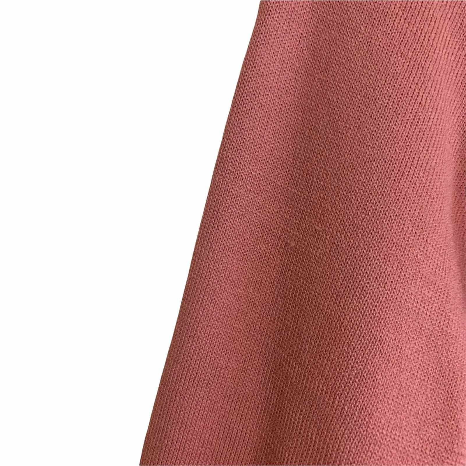 Tularosa Size Small Chic Pink Rose Tie Slit Long … - image 4