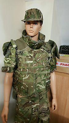 Genuine British Army Issue MTP Osprey Body Armour Assault Vest Grade 1.