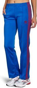 Adidas Vintage ADI-Firebird Women's Track Pants Blue Pink 3 Stripes Size M