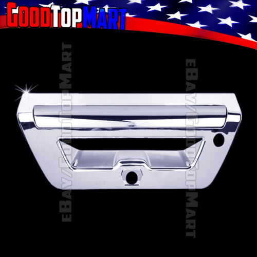 For Ford F150 2015 2016 2017 Chrome Tailgate Cover WITH Camera Trailer Light