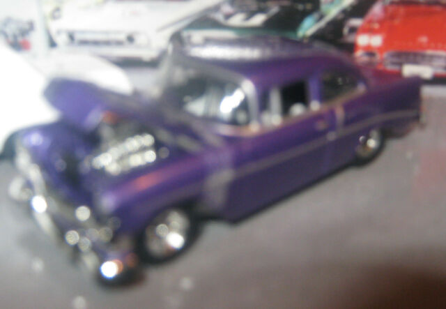 1956 CHEVY 210 SEDAN  HOT WHEELS RUBBER TIRES LOOSE 1:64