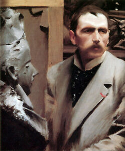 Anders Zorn  Self Portrait   24039  CANVAS - <span itemprop='availableAtOrFrom'>Lancashire, United Kingdom</span> - Anders Zorn  Self Portrait   24039  CANVAS - Lancashire, United Kingdom