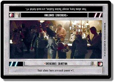 Cantina Star Wars CCG WB Premiere Unlimited Tatooine x2 LS Light Side
