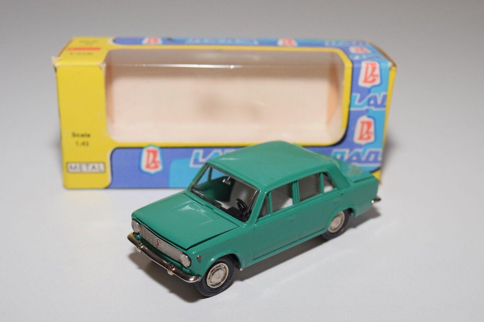 Russische auto cccp novoexport udssr lada 2101 a9 grüner minze boxed selten wie selten ( 5
