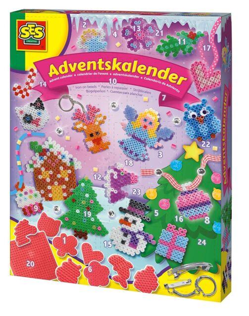 Spielzeug Ses Creative 06079 Adventskalender Bügelperlen Neuheit Ovp-