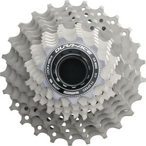 Shimano Dura-Ace CS-9000 11 Speed Road Bike Cassette 12//25 12-25 Road Bicycle
