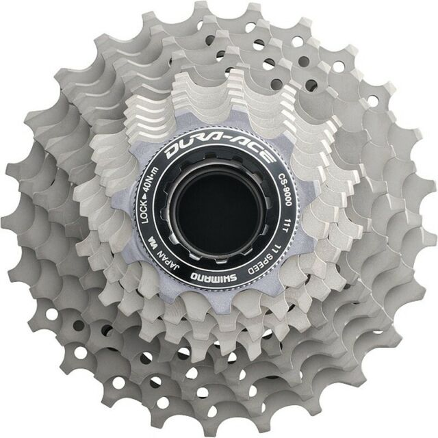 Shimano Dura-Ace CS-9000 12-25 Titanium 11 Speed cogs replacement parts