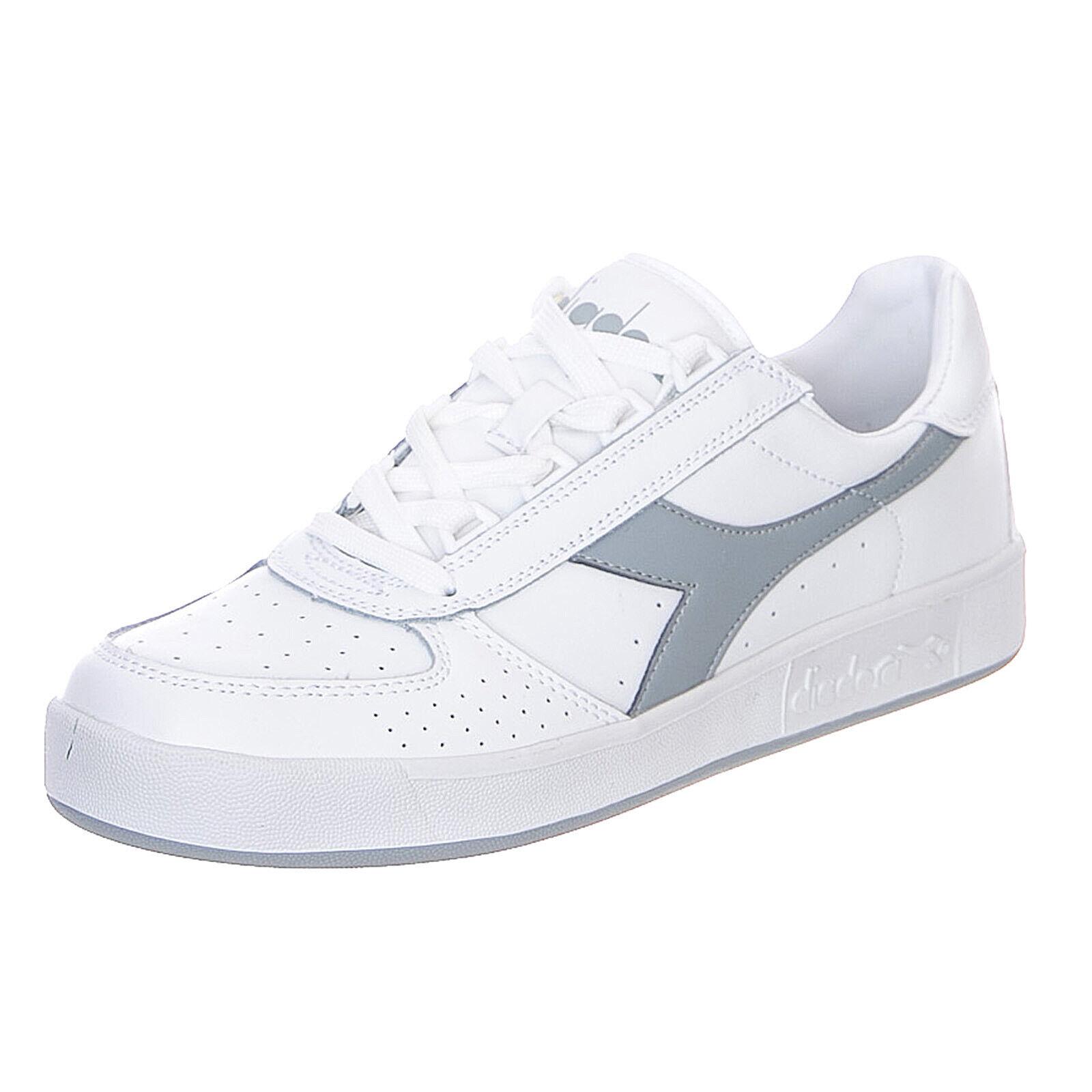Diadora b-elite - weiß grau - Turnschuhe niedrig Weißer Mann