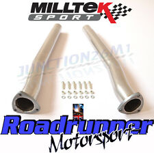 Milltek Audi RS3 8v De-cats Exhaust Secondary Cat Bypass Pipes -Fits OE SSXAU588
