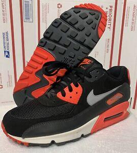 Nike Air Max 90 Black Infrared White Grey Atomic Red Reverse Og ...