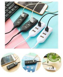 Portable-NEW-4-Port-USB-2-0-High-Speed-USB-HUB-Laptop-PC-Slim-Smallest-Mini-USB