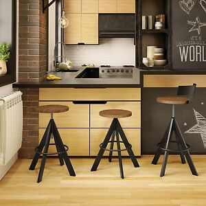 image is loading - Amisco Bar Stools