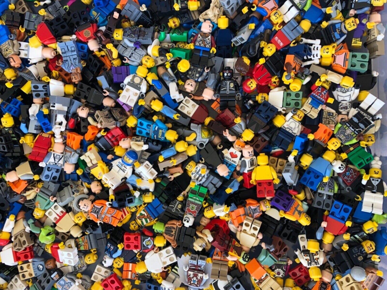Huge lego figurine lot  de 50 Minifigures massive Lot  nouvelle exclusivité haut de gamme
