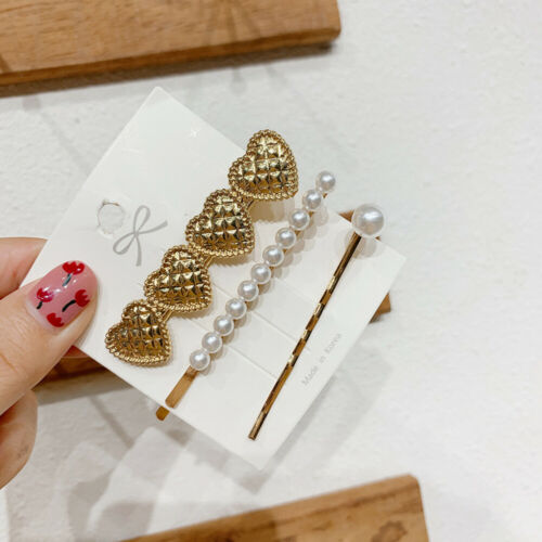 Details about  /Women/'s Metal Hair Clips Hairpin Hair Pins Barrette Ponytail Grips Accessories