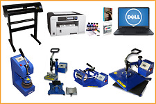A4 Printing Package Laptop Press Plate Printer Cutter ICC INK Mug Sublimation