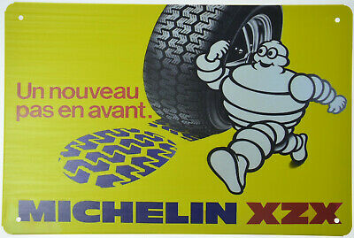 "Michelin Man Bibendum Tyre Tire Service Retro Metal Tin Sign Plaque 12x8/"" NEW"