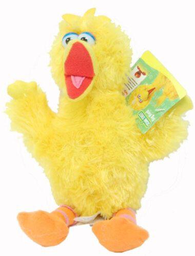 "Sesame Street BIG BIRD YELLOW Plush Doll Toy NEWBORN BABY 9/""  NEW"
