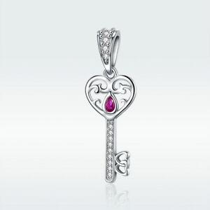 AAA S925 Sterling Silver Pendant Unicorn Charm For Women Bracelet Necklace