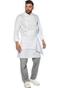 Grembiule Cuoco Uomo Donna da Lavoro Cucina Chef Ristorante ... e4967ebcfc20
