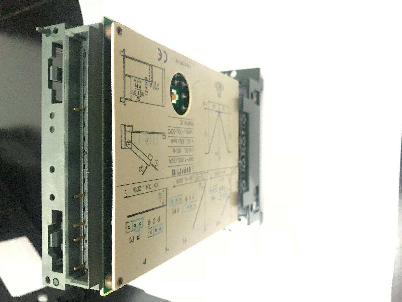 Landis /& Gyr polygyr ccm 61.40 control regulador régimen Controller rzm61.40 l/&g