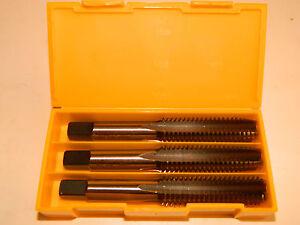 Cleveland C27666 5//8-18 Hand Taps H5 Straight 6-Flute MBTM Cobalt Set of 3