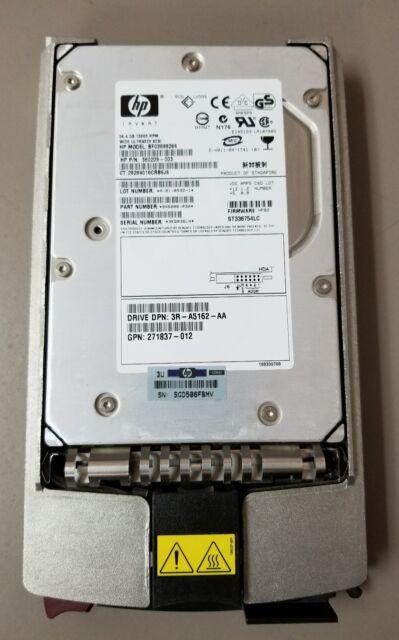 hp 286776-B22 289241-001 36.4GB U320 15K RPM  hard drive