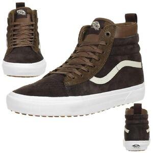 3ad551d928b Vans Classic Sk8-hi MTE D Winter Trainers Shoes Leather Va33txqww ...