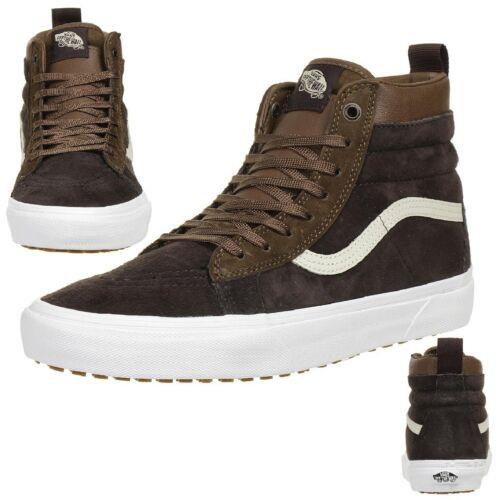 VANS CLASSIC SK8-HI MTE D Winter Trainers Shoes Leather va33txqww Scotchgard