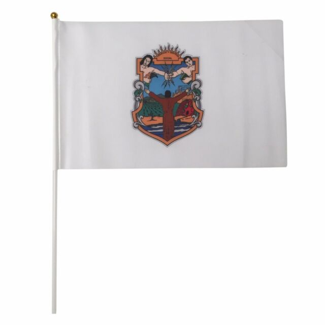 California State 12-Pack 4x6 Inch Hand Waving Desk Flags #49