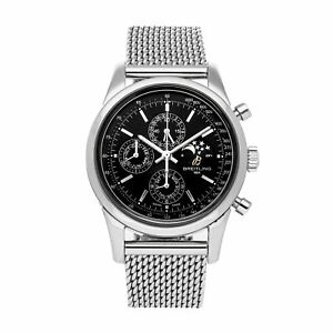 Breitling Transocean Chronograph 1461 Auto 43mm Steel Mens Watch A1931012/BB68