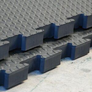 90x90cm Interlocking Rubber Safety Mat Wet room mat 3ftx3ft