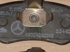 ORIGINAL MERCEDES Sprinter G Klasse Bremsbeläge, A 9024230510, 0024204020