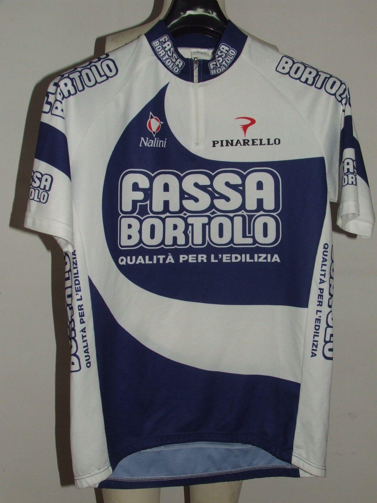 BIKE CYCLING JERSEY SHIRT MAILLOT CYCLISM TEAM FASSA BORTOLO NALINI size XL