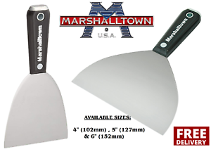 Marshalltown-Drywall-Jointing-Taping-Knife-Putty-Spatula-4-034-5-034-amp-6-034-CHOOSE