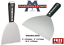 Marshalltown-Drywall-Jointing-Taping-Knife-Putty-Spatula-4-034-5-034-amp-6-034-CHOOSE thumbnail 1