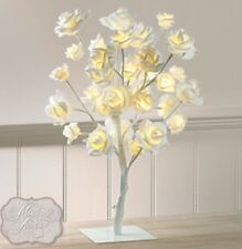 NEW VINTAGE LED 32 WARM WHITE LED BULBS ROSE TREE TABLE LAMP LIGHT BEST GIFTS