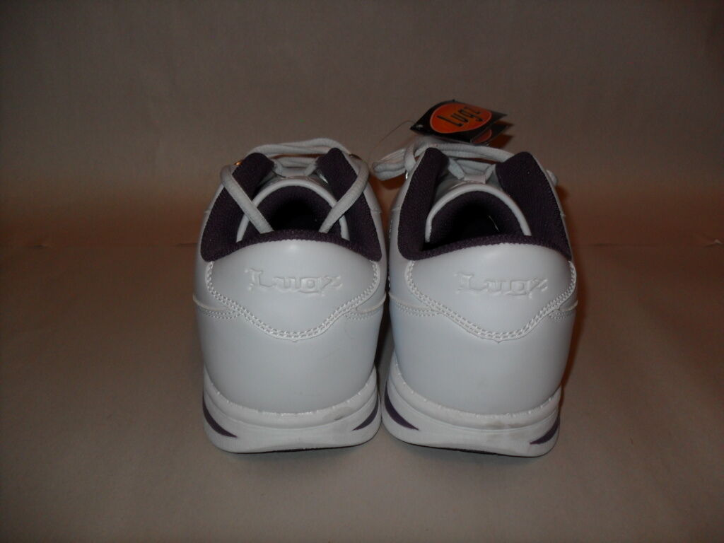 NEW Women's US White/Dark Size 8-M Lugz Zrocs Fashion White/Dark US Purple Sneakers 252cfb