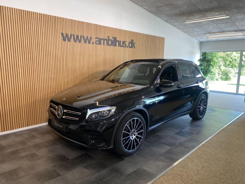 Mercedes GLC250 d 2,2 AMG Line aut. 4Matic 5d - 3.526 kr.