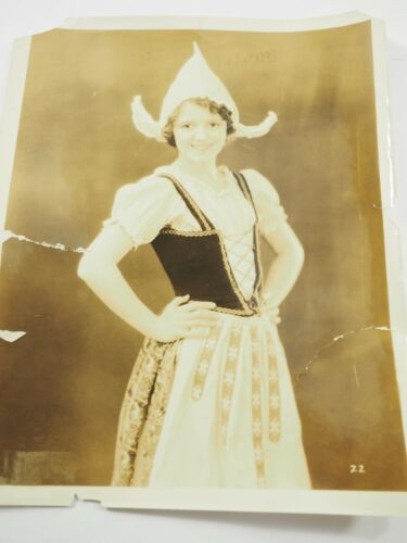 "Studio Publicity Photo Janet Gaynor 8"" x 10"" circa 1920"